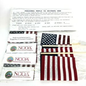 Americana Michael New Legal Defense Fund Packet Flag Support Political Politics