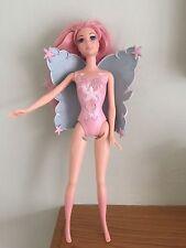 Muñeca Barbie Hada impresionante en con moldeado Leotard y alas en en muy buena condición original