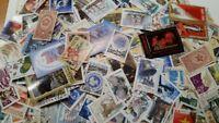 1000 verschiedene Briefmarken aus der Sowjetunion , CCCP gestempelt