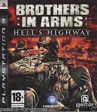 BROTHERS IN ARMS HELL'S HIGHWAY for Playstation 3 PS3 - with box & manual