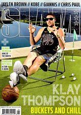 Slam Magazine #215 May June 2018 basketball Cover 2 Warriors KLAY THOMPSON