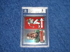 STEPHEN HILL JETS 2012 TOPPS CHROME 1957 RC INSERT REFRACTOR BGS 9 MINT (18GR)