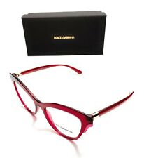 Dolce & Gabbana DG 3313 3211 Bordeaux Women's Authentic Sunglasses 52-17