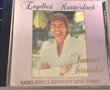 """ENGELBERT HUMPERDINCK Summer Serenades VG CD """"RARE"""""""