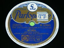 JOHN KIRBY : Milumbu / Can't we be friends - Orig 1941 UK Parlophone 78rpm 19O