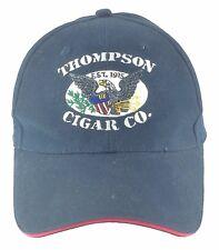 Thompson Cigar Company Embroidered Logo Black Ball Cap Hat Tampa Florida