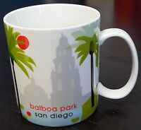 Starbucks Balboa Park San Diego Coffee Mug Cup Vintage 2007 NEW but IMPERFECT