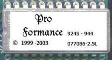 1985½ - 1987 PORSCHE 924S 944 Performance EPROM chip +18HP ECU 076 077