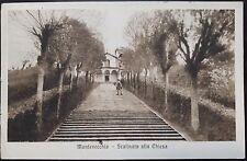 1920 - Montevecchia - Scalinata alla Chiesa