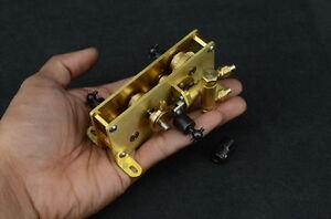Brass Decelerating Transfer Box wiht Water Pump