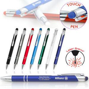 Metallkugelschreiber Touch Pen Individueller Laser Gravur TOPreis 1-1000 Stück