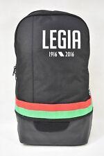 Mens Adidas Legia Warsaw Black Backpack (TGAC13) RRP £29.99