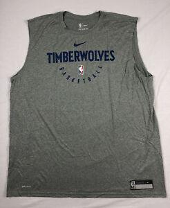 Minnesota Timberwolves Nike Sleeveless Shirt Men's NEW Multiple Sizes