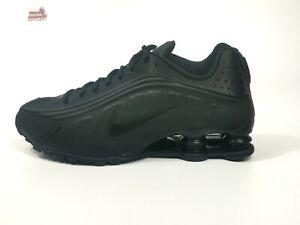 "Nike Shox R4 GS Sneaker Damen ""Triple Black"" Freizeit 38 38,5"