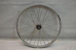 "Terra Trike 20"" Recumbent Rear Wheel Silver 8/9SPD OLW135 32S 20mm AV QR Charity"