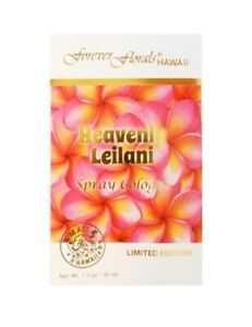 Heavenly Leilani Spray Cologne 1 oz Forever Florals (New In Box,FREE SHIP-USA)