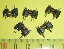 "5 x Miniatur HF Spule  m. Abstimmkern "" Mod A """