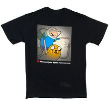 Adventure Time With Finn And Jake Photo Filter Licensed Adult T-Shirt Size Small