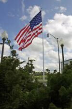10X15 Ft Us American Nylon Flag With 6 Rows Of Stitching And Reinforced Corners