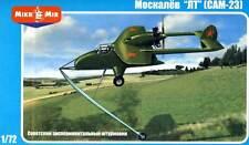 Micro Mir AMP Moskalyev SAM-23 Soviet experimental 1:72 Miodell-Bausatz kuit NEU