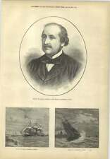 1873 Wreck At Dover Pres Council Of Ministers In France Duc De Broglie