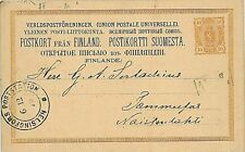 FINLAND - POSTAL STATIONERY: Michel n. 15 - USED
