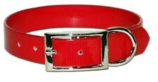 """Dog Collar - 3/4""""  Terrier, Whippet, Puppy, Pet, Hunting - Red"""