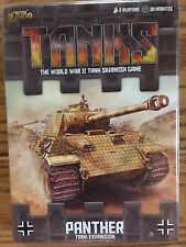 TANKS: German Panther & Jagpanther Tank Expansion