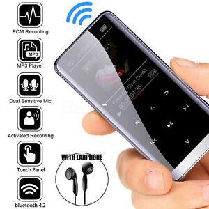 32GB Bluetooth MP4/3 Player HIFI Sport Music Speakers Media FM Radio Recorder