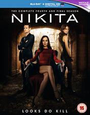 Nikita - Season 4 [2014] [Region Free] (Blu-ray)