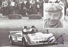 Autogramm Joseph Sepp Greger Motorsport Rennfahrer 60er PORSCHE 2010 verst. 15-6