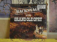 BACKSTAGE AT THE GRAND OLE OPRY - SEALED LP AHL1-4350 HANK SNOW ACUFF OSBORNE