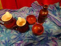 ancien  vintage , grand lot ,4piéces vases ,anciens
