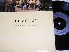 """7"""" - Level 42 / Children say & Starchild - UK 1987 MINT # 2267"""