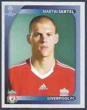PANINI UEFA CHAMPIONS LEAGUE 2008-09- #336-LIVERPOOL & SLOVAKIA-MARTIN SKRTEL