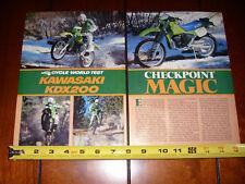 1986 KAWASAKI KDX200 - ORIGINAL ARTICLE KDX 200