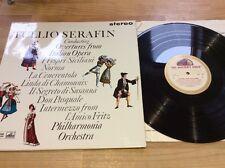 Tullio Serafin Overtures From Italian Opera Lp ASD 466 Gold Cream Ex