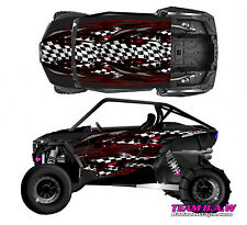 Polaris RZR 1000 xp Street RaceDesign Graphic Kit Wraps UTV Turbo Scoop 2door