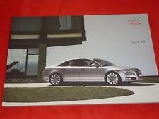 AUDI A8 D3 4E 2.8 FSI e - 4.2 TDI quattro Prospekt Brochure Depliant von 2008