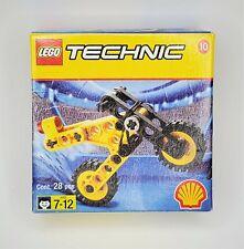 Lego Technic #2544 Motorcycle 1998 Shell Oil Company Promo Set