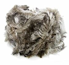 Crystal Palace Splash #7182 Mink Brown Taupe White Feather Boa Eyelash Yarn 100g