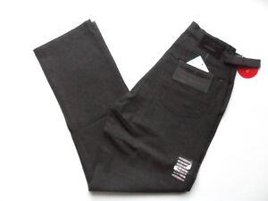 Men's Stretch Fabric Trousers Grey Sizes: 28 - 38 URBAN STONE