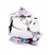 Brand New Genuine Sterling Silver Disney Mrs Potts and Chips Charm S925