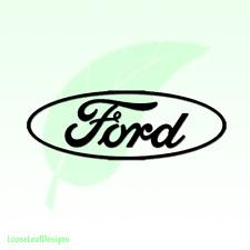 Ford Logo Vinyl Decal Sticker 228