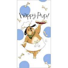 Happy Pup Flour Sack Cotton Towel R2643
