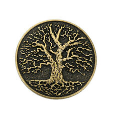 Gothic Mens Vintage Belt Buckle Tree of Life Roll Ancient