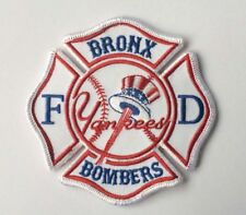 New York City YANKEES Bronx Bombers  FIRE PATCH