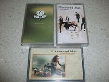 3 X FLEETWOOD MAC CASSETTE TAPES - THE DANCE, BEHIND THE MASK, GREATEST HITS