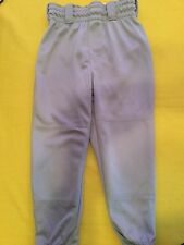 Rawlings baseball/softball/T-ball pants-Youth Xsmall-gray sports