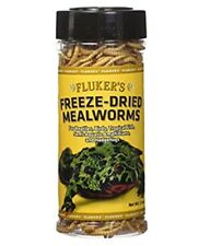 Fluker's Freeze Dried Mealworms Reptile Turtle Fish Bird Frogs Amphibians Feed